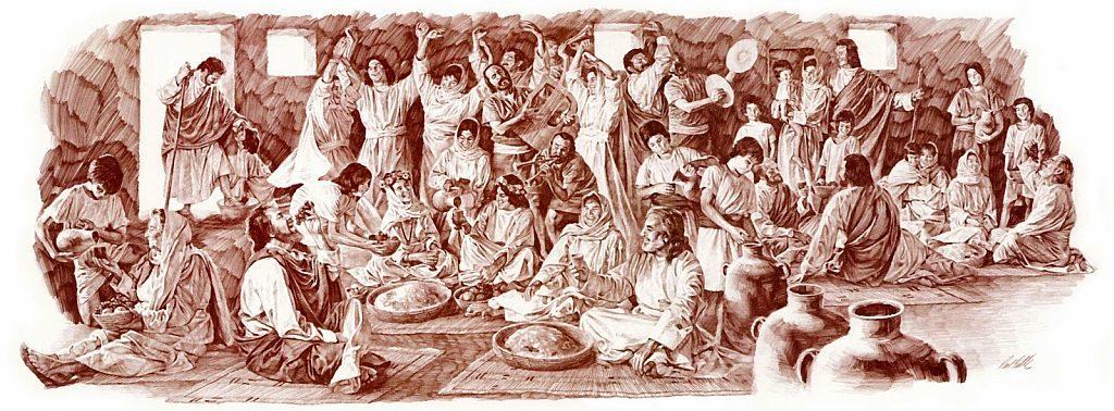 Die wegraping en die Joodse Trou Seremonie