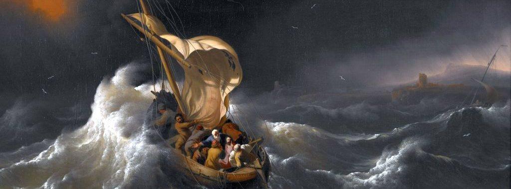 Jesus maak die storms stil